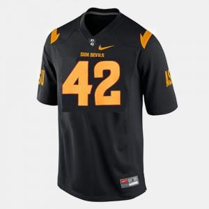 For Kids Arizona State #42 Pat Tillman Black College Football Jersey 523827-978
