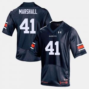 For Men AU #41 Aidan Marshall Navy College Football Jersey 782476-147