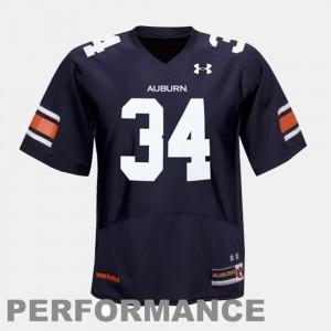 For Kids Auburn University #34 Bo Jackson Blue College Football Jersey 112225-369