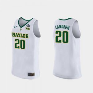 Ladies Baylor #20 Juicy Landrum White 2019 NCAA Women's Basketball Champions Jersey 778825-581