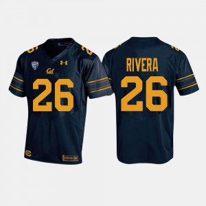 Mens University of California #26 Bug Rivera Navy College Football Jersey 155768-114