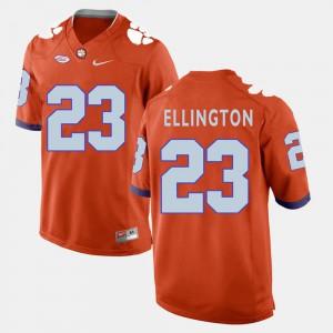 Mens Clemson National Championship #23 Andre Ellington Orange College Football Jersey 301460-758