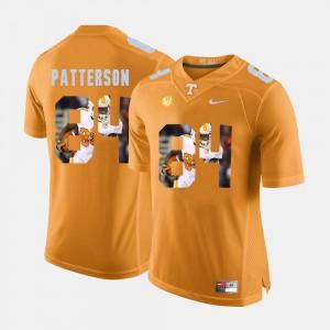 Men's UT #84 Cordarrelle Patterson Orange Pictorial Fashion Jersey 739003-332