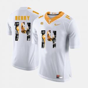 Men UT Volunteer #14 Eric Berry White Pictorial Fashion Jersey 398504-812