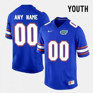 Kids Seminoles #00 Blue College Limited Football Custom Jersey 792491-908