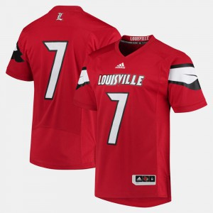 Men's Cardinal #7 Red 2017 Special Games Jersey 410730-777