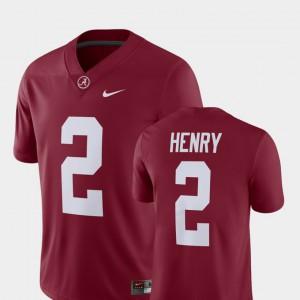 For Men Bama #2 Derrick Henry Crimson Alumni Football Game Player Jersey 706599-432