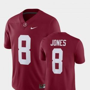For Men's University of Alabama #8 Julio Jones Crimson Alumni Football Game Player Jersey 474235-153