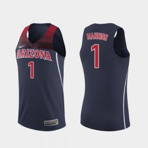 Chase Jeter Arizona Wildcats Basketball Jersey-Navy