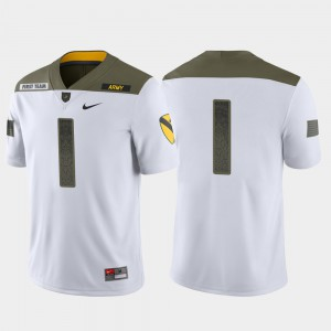 Men's Army #1 White 1st Cavalry Division Limited Edition Jersey 832775-463