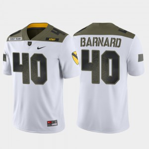 Men's Army #40 Cade Barnard White 1st Cavalry Division Limited Edition Jersey 225930-453