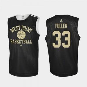 Men's USMA #33 Cam Fuller Black Practice College Basketball Jersey 646140-398