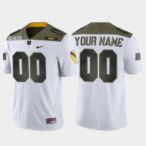 Men's Westpoint #00 White 1st Cavalry Division Limited Edition Customized Jerseys 192352-718