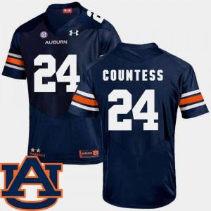 Mens AU #24 Blake Countess Navy College Football SEC Patch Replica Jersey 815653-474