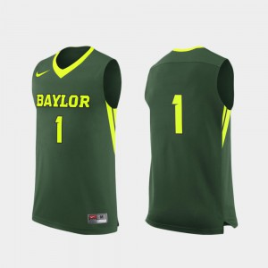 For Men BU #1 Green Replica College Basketball Jersey 738395-773