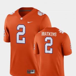 Men's Clemson #2 Sammy Watkins Orange Game College Football Jersey 262878-460