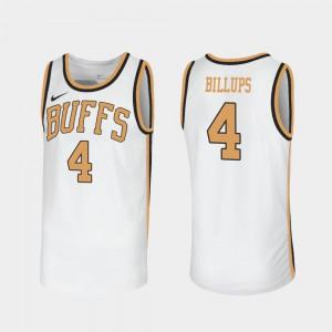 For Men CU #4 Chauncey Billups White Throwback Sox Walseth-Era Jersey 943193-402