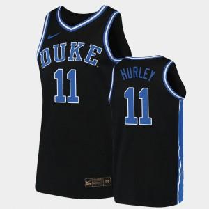 Mens Blue Devils #11 Bobby Hurley Black Replica 2019-20 College Basketball Jersey 230730-180