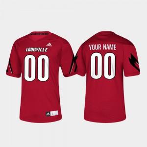 Men Cardinals #00 Red College Football Custom Jerseys 346047-475