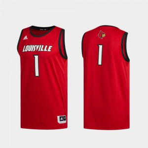 Men Cardinal #1 Red Basketball Swingman Swingman Basketball Jersey 737266-251