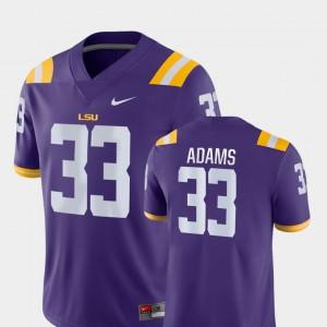 For Men LSU Tigers #33 Jamal Adams Purple Game College Football Jersey 467091-510