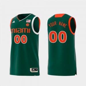 Mens UM #00 Green Replica Swingman College Basketball Custom Jerseys 184278-682