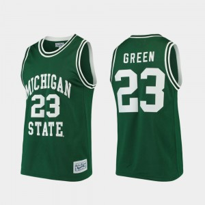 Men's Michigan State University #23 Draymond Green Green Alumni Limited College Basketball Jersey 609168-566