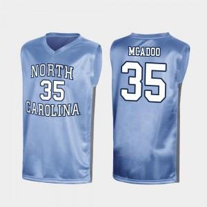Mens North Carolina #35 Ryan McAdoo Royal March Madness Special College Basketball Jersey 924347-595