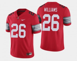 For Men's Ohio State Buckeyes #26 Antonio Williams Scarlet 2018 Spring Game Limited Jersey 946957-229