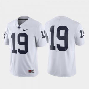 For Men's Penn State Nittany Lions #19 White Limited Jersey 430609-868