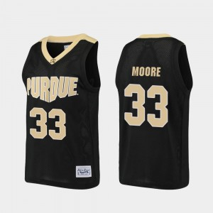 For Men's Purdue #33 E'Twaun Moore Black Alumni Basketball Jersey 148965-345