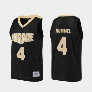 Mens Boilermaker #4 Robbie Hummel Black Alumni Basketball Jersey 717831-429