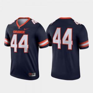 For Men Syracuse Orange #44 Navy Legend College Football Jersey 396871-150