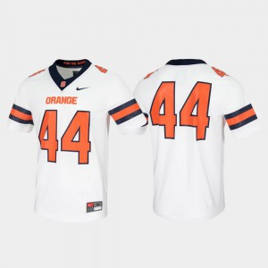 Mens Syracuse #44 White Untouchable Game Jersey 947458-387