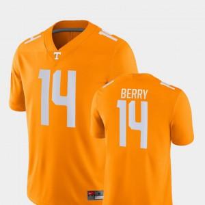 Mens UT VOL #14 Eric Berry Orange Game College Football Jersey 978346-201