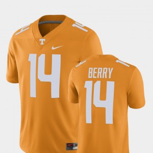 For Men's Vols #14 Eric Berry Tennessee Orange Alumni Football Game Player Jersey 189477-839