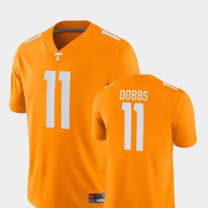 For Men's UT #11 Joshua Dobbs Orange Game College Football Jersey 669633-639