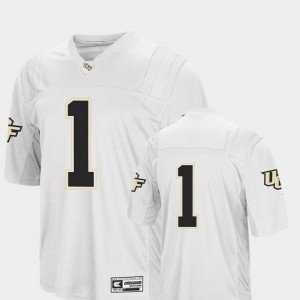 Men's University of Central Florida #1 White College Football Colosseum Jersey 962444-672