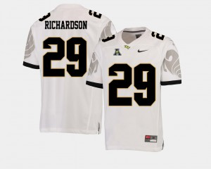 For Men Knights #29 Cordarrian Richardson White College Football American Athletic Conference Jersey 940162-694