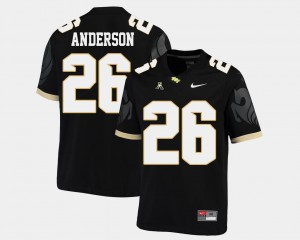 Mens Knights #26 Otis Anderson Black College Football American Athletic Conference Jersey 648261-957