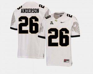 Men's UCF Knights #26 Otis Anderson White College Football American Athletic Conference Jersey 126704-769