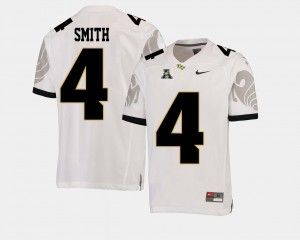 Men's UCF Knights #4 Tre'Quan Smith White College Football American Athletic Conference Jersey 611533-137