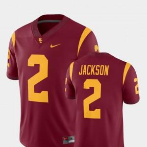For Men's USC #2 Adoree' Jackson Cardinal College Football Alumni Player Jersey 995644-794