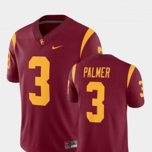 Mens Trojans #3 Carson Palmer Cardinal College Football Alumni Player Jersey 531726-265