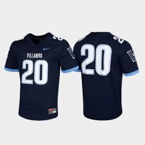 For Men Villanova Wildcats #20 Navy Untouchable Game Jersey 640036-811