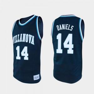 Mens Villanova #14 Caleb Daniels Navy Alumni College Basketball Jersey 395923-316