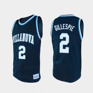 Mens Wildcats #2 Collin Gillespie Navy Alumni College Basketball Jersey 475108-175
