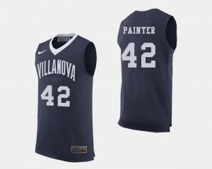Men Villanova #42 Dylan Painter Navy College Basketball Jersey 364802-264