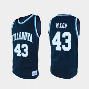 For Men's Villanova #43 Eric Dixon Navy Alumni College Basketball Jersey 921486-751