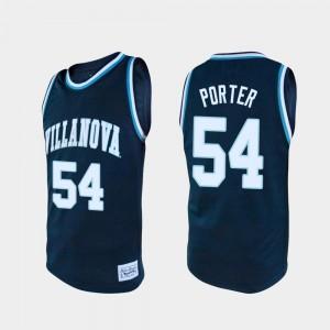 For Men Wildcats #54 Howard Porter Navy Alumni College Basketball Jersey 687618-266
